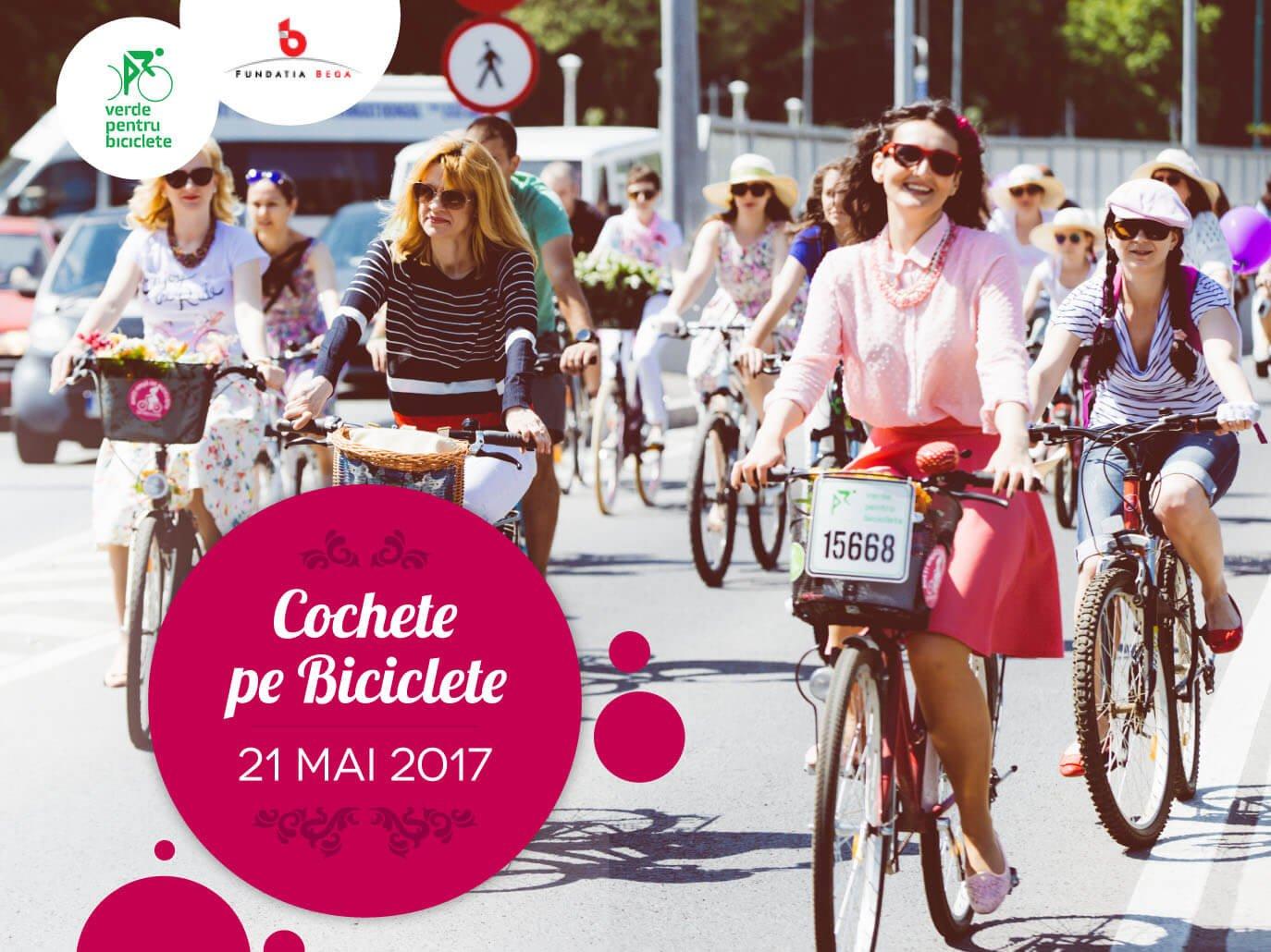 Cochete pe biciclete – 21 mai 2017